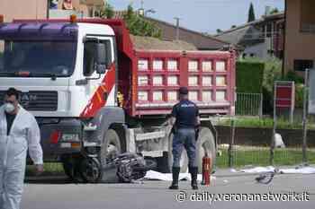 Pastrengo, incidente mortale: scontro moto-camion - Daily Verona Network