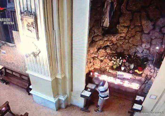 Otto furti in chiesa a Formigine, arrestato italiano 46enne - La Pressa
