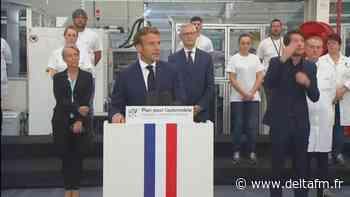"""A Etaples, Macron au secours de l'automobile, mais patrons et salariés devront faire """"des concessions"""" - Delta FM"""