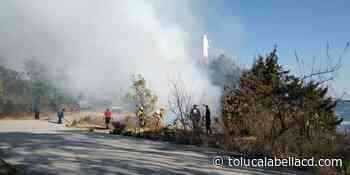 VIDEO || Fuerte incendio en cerro del Cristo Rey, Tenancingo. - TolucalaBellaCd