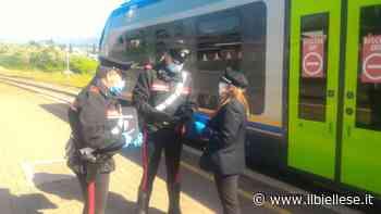 Cossato, dimentica il cellulare sul treno. I carabinieri lo ritrovano prima che venga rubato - ilbiellese.it