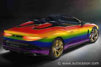 Bentley Mulliner Bacalar arco iris: ¡menos mal que no se vende! - Autocasion.com