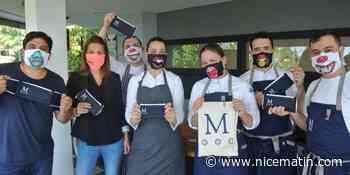 Des masques personnalisés pour les équipes du Mirazur à Menton - Nice-Matin