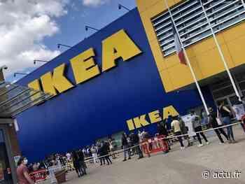 VIDEO. Affluence monstre pour la réouverture d'Ikea à Thiais Village - actu.fr