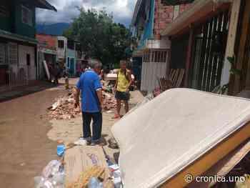 En Santa Eduviges de Táriba volaron paredes, tejas y demás - Crónica Uno