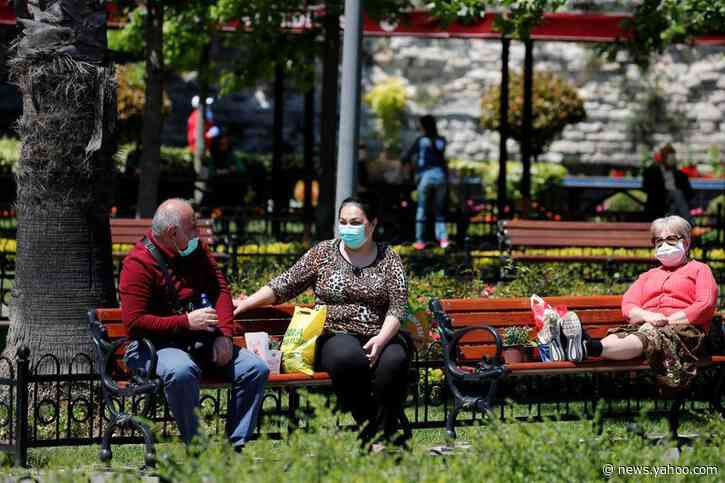 Turkey resumes intercity train services as coronavirus curbs ease