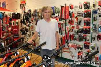 Lillebonne. Coup de pouce vélo : le réparateur Benoît Grèverend déjà en selle - Le Courrier Cauchois
