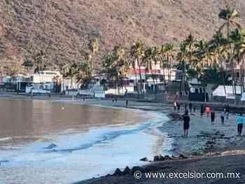 Relajan confinamiento en Guaymas y se ejercitan en la playa - Periódico Excélsior