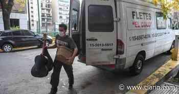Habilitaron las mudanzas en la provincia de Buenos Aires en medio de la cuarentena - Clarín