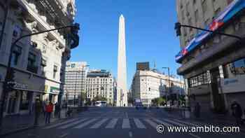 ¿Cómo estará el clima en la Ciudad de Buenos Aires? pronóstico del 27 de mayo del 2020 - ámbito.com