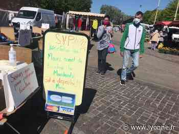 Consommation - Les commerçants installés à l'extérieur du marché de Joigny sont de retour - L'Yonne Républicaine