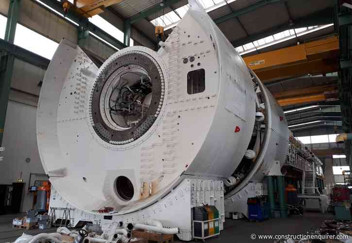 First pictures of giant HS2 tunnel machines