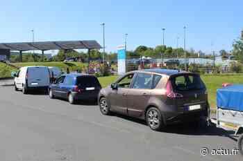 Des bouchons pour atteindre la déchetterie de Guingamp - actu.fr