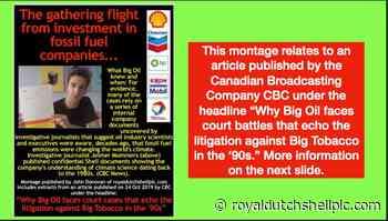 1988 SHELL INTERNAL FILE: THE GREENHOUSE EFFECT - Royal Dutch Shell plc .com
