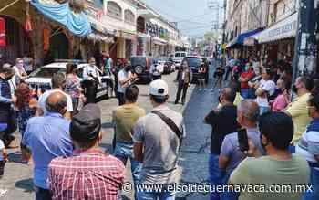 Se reúne Villalobos con comerciantes de las plazas Lido y Degollado - El Sol de Cuernavaca