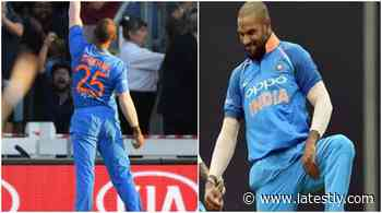 Cricket News   ⚡Shikhar Dhawan Reveals Kabaddi Inspiration Behind Famous 'Thigh-Five' Celebration (Watch Video) - LatestLY