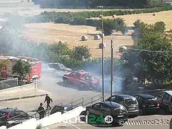 Noci: sterpaglia in fiamme - NOCI24.it