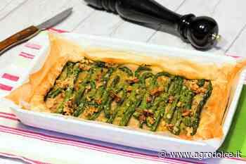 Ricetta Sfogliata asparagi e noci - Agrodolce