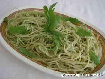 Ricetta del giorno: spaghetti al pesto di rucola e noci - il Paese Nuovo
