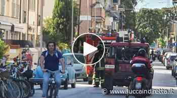 Auto in fiamme a Viareggio, nessun ferito - Luccaindiretta - LuccaInDiretta