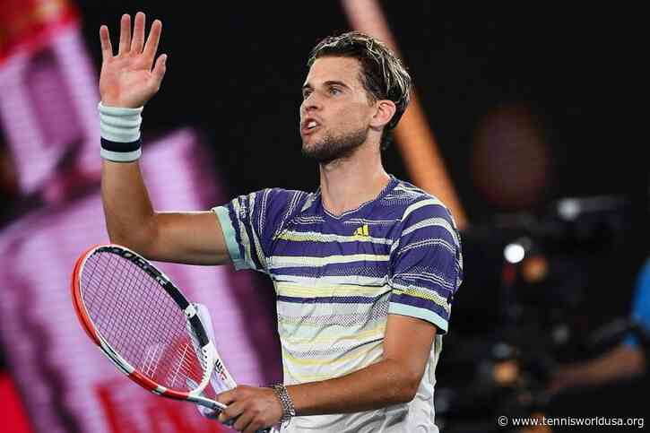 Dominic Thiem: I've been helping financially some players but I won't reveal names