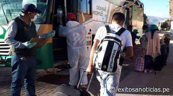 Coronavirus: Se realizó el primer traslado humanitario desde Arequipa-Orcopampa - exitosanoticias