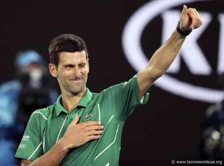 A record where Novak Djokovic surpasses Roger Federer and Nadal