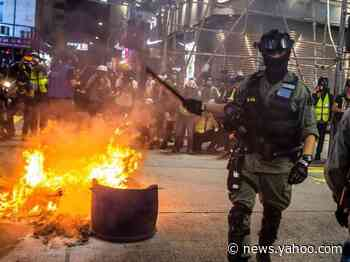 China passes landmark legislation to force national security laws in Hong Kong, effectively crushing the city's autonomy