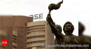 Sensex rises 595 points to close at 32,201