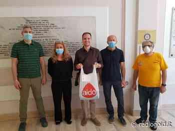 Aido Valenza consegna le mascherine alle fasce deboli della popolazione - Radiogold