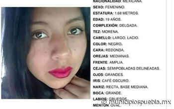 Desaparece Ana Bárbara de 19 años en San Jerónimo Caleras, Puebla - Municipios Puebla