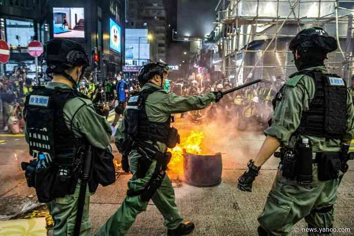 China approves plan to impose Hong Kong security law