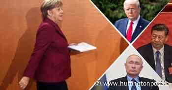 """Merkel pensa a un """"ruolo quarto"""" per l'Europa - L'HuffPost"""