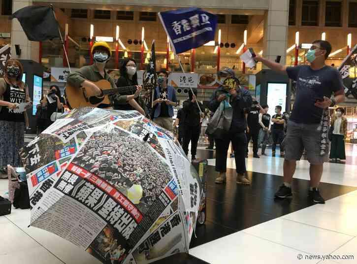 Taiwan pledges help for fleeing Hong Kongers, riles China