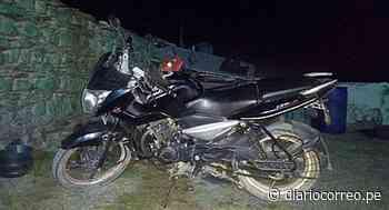 Minero fue intervenido por manejar motocicleta que fue robada en Juliaca - Diario Correo