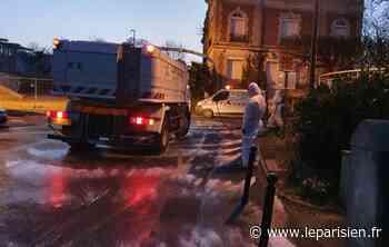 Claye-Souilly : les abords des commerces désinfectés chaque vendredi à l'aube - Le Parisien