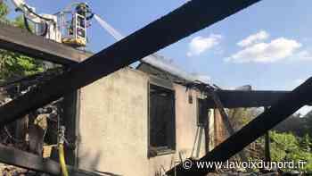 Somain : une maison de la rue du Pré-Tolu entièrement détruite par le feu - La Voix du Nord
