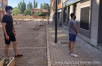 Los jugadores del Zamora CF se someten a las pruebas del coronavirus - Zamora 24 Horas