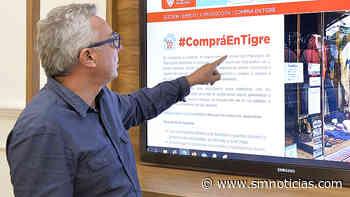 Zamora presentó una plataforma virtual que estimula el consumo en comercios de Tigre - SMnoticias