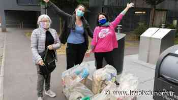 Le collectif « World cleanUp Day » d'Arras continue de ramasser des déchets - La Voix du Nord