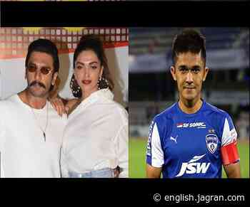 'Baby! You….': When Deepika Padukone exposed Ranveer Singh's poor badminton skills during live chat with Sunil Chhetri - Jagran English