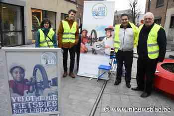 Halle maakt werk van fietsbibliotheek