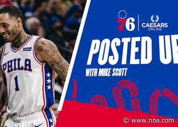 Posted Up! | Mike Scott