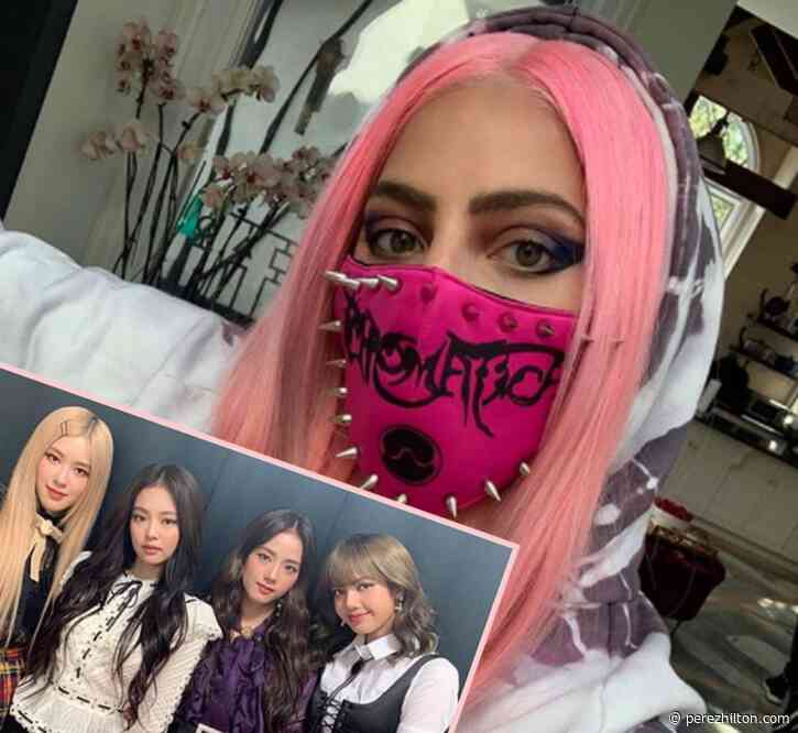 Sour Then Sweet — Listen To Lady GaGa's Sour Candy Collab With BLACKPINK HERE!