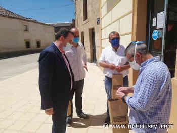 La Diputación de Zamora reparte más de 2.500 geles hidroalcohólicos y 10.000 carteles informativos a establecimientos de la provincia - Noticiascyl