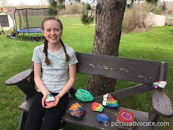 Kindness Rocks at the Aberdeen Hospital Gratitude Garden - pictouadvocate.com