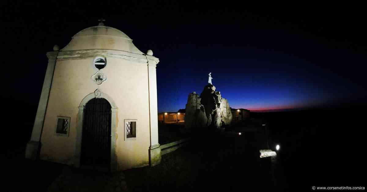 La photo du jour : Notre dame de la Serra veille sur Calvi La photo du jour - Corse Net Infos