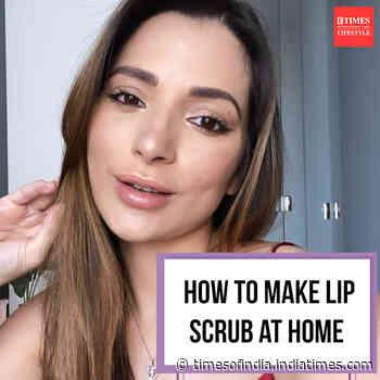 How to make lip scrub at home