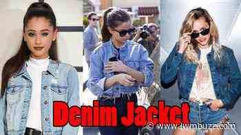 Ariana Grande VS Selena Gomez VS Miley Cyrus: Who Pulled Off The Denim Jacket Look Better? - IWMBuzz