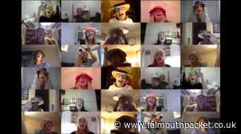 Culdrose Military Wives Choir video for Miley Cyrus' The Climb - Falmouth Packet
